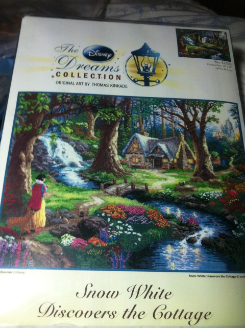 Snow White discovers the Cottage - Disney Dreams